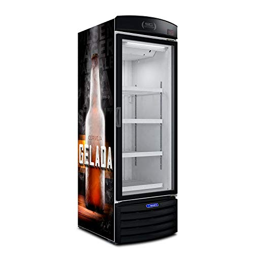 Cervejeira Expositor Vertical Metalfrio 497 Litros Adesivada VN50RL 110V