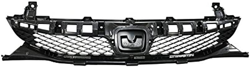 DAT AUTO PARTS Grill Bracket Replacement for 09-11 Honda Civic for Coupe Models Black Front Grille Left Driver Side HO1207108