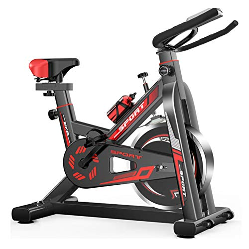 Buy Bargain ZYQDRZ Professional Sports Indoor Bicycle, Silent Vertical Aerobic Exercise Bike, Led Di...