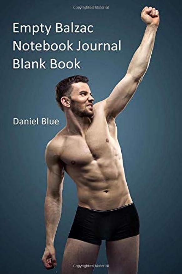 申し立て晩餐永遠のEmpty Balzac Notebook Journal Blank Book
