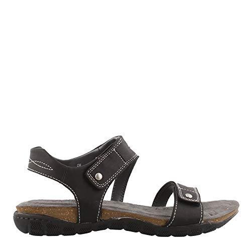 Khombu Women's, Solace Sandals Black 6 M