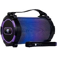 Fonestar Triumph - Altavoz Bluetooth, Color Negro y Morado