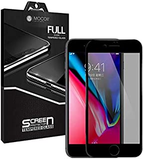 Mocoll 2.5D Glass Full Screen Protector For Apple iPhone 7 Plus/ 8 Plus, Black Edges