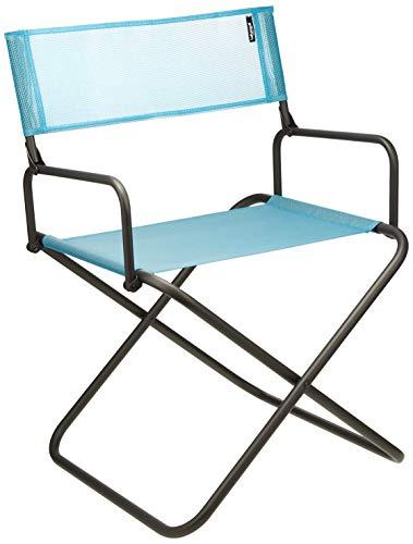 Lafuma Großer, kompakter Klappstuhl für unterwegs, Mit Armlehne, FGX XL, Batyline, hellblau
