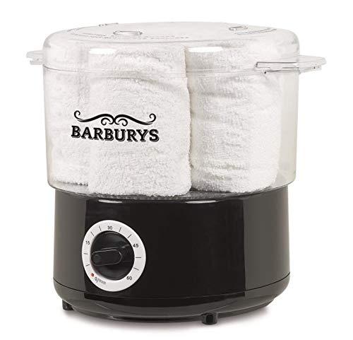 Máquina de vapor caliente de Barburys para toallas, calentador de toallas, calentador de toallas eléctrico, calentador de toallas, peluquería, salón de belleza, peluquería, barbería 🔥