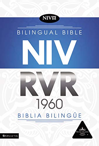 Reina Valera 1960/New International Version, Biblia Bilingüe, Leather-Look, Negro con Índice (Spanish Edition)
