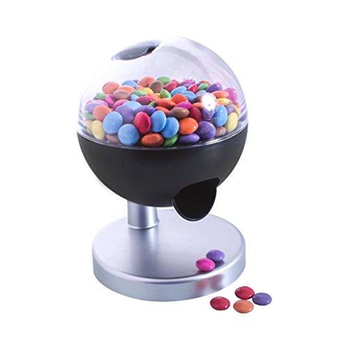 Invero® - Dispensador de dulces de caramelo activado por tacto a máquina, funciona con pilas, ideal para niños, hogar, regalo novedoso y más