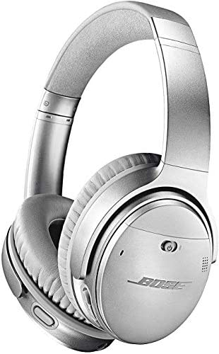 Bose QuietComfort 35 II Noise Cancelling Bluetooth Headphones— Wireless, Over Ear Headphones with Built in Microphone and Voice Control, Black