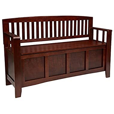 Linon Home Decor Cynthia Storage Bench