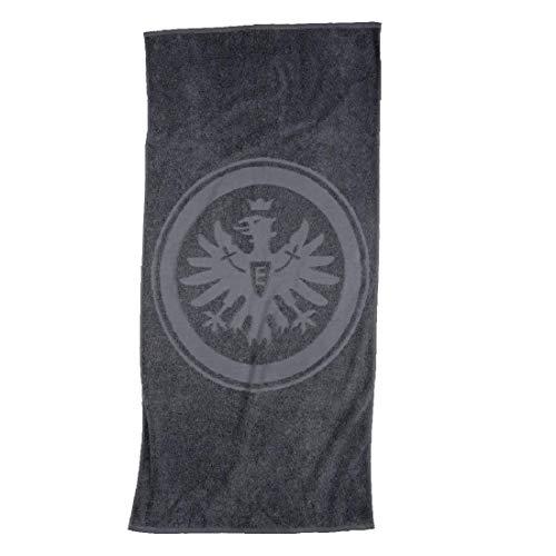 Eintracht Frankfurt Handtuch, Duschtuch, Badetuch (Duschtuch 70/140cm, grau)
