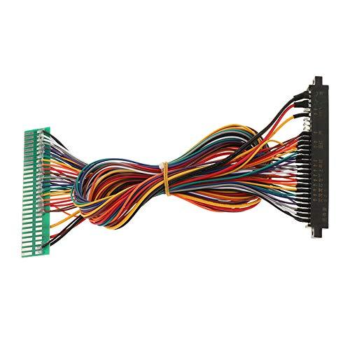 Semoic 60Cm 28P Jamma Extension Wire Cablaggio Cavo di Prolunga Dedicato per Macchine Arcade Accessori per Macchine Da Gioco