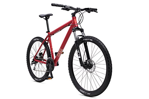 SE Bicycles 1.0 Big Mountain Bicycles with 27.5' Wheel, Satin Red, 21'/X-Large