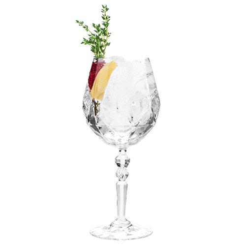 Rcr Cristalleria Italiana 26521020006, Bicchieri in Cristallo. Uomo, Trasparente, Aperitif Glasses