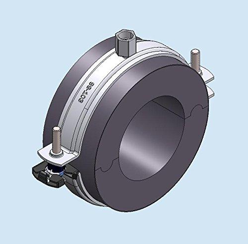 Froid Tube Collier de serrage type de Clic 19 x 35 mm Conel ST4 Épaisseur isolation : 19,5