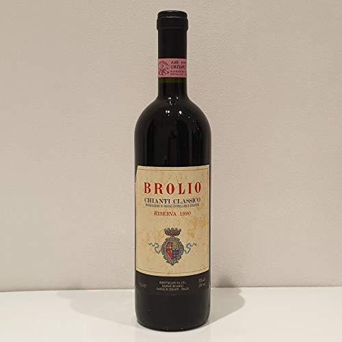 Cantina delle Meraviglie - Vino Rosso BROLIO CHIANTI CLASSICO RISERVA BARONE RICASOLI 1990 0.75