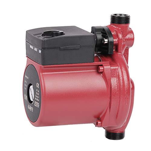 SHYLIYU Bomba de Recirculación de Agua Caliente Bomba de Agua de Trasvase Doméstico 120w 2400L/H Bomba de Circulación de Agua Automatico y Manual