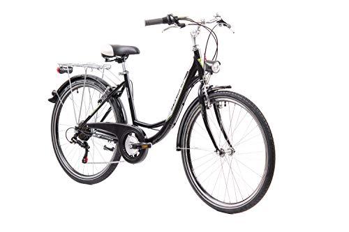 Bianco 26 F.lli Schiano Lazy Bici da Citta Uomo
