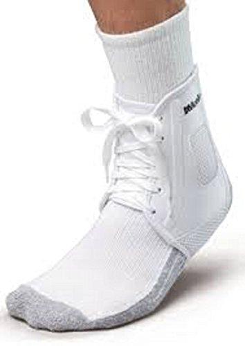 New Mueller XLP All Sport Soccer Lace Up Ankle Wrap Support Brace XXS White