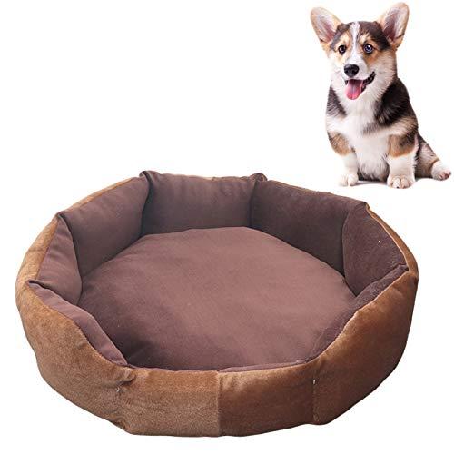 JOOFFF Duradera cama para perro transpirable, sofá cama para mascotas lavable a máquina, sofá cama cama para perros, interior y exterior, gatos, color marrón