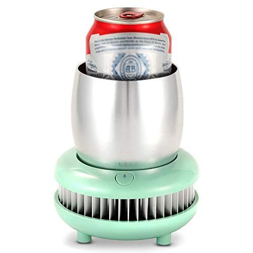 HBBOOI Fast Enfriador de Bebidas Copa Copa Cooler, Mini Hervidor eléctrico instantáneo,...