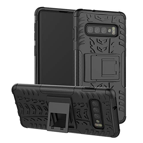durable dual layer kickstand case for galaxy s10 plus