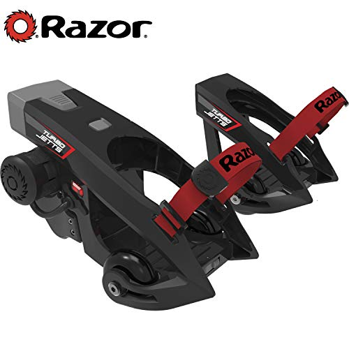 Razor Turbo Jetts Electric Heel Wheels - Red