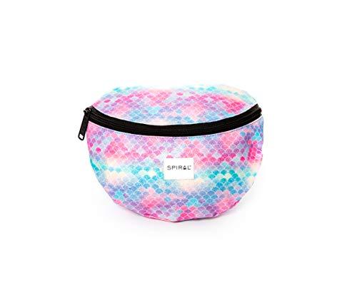 Spiraal PASTEL CANDY BUM Tas Sport Taille Pack, 23 cm, 2 liter,Multi kleuren