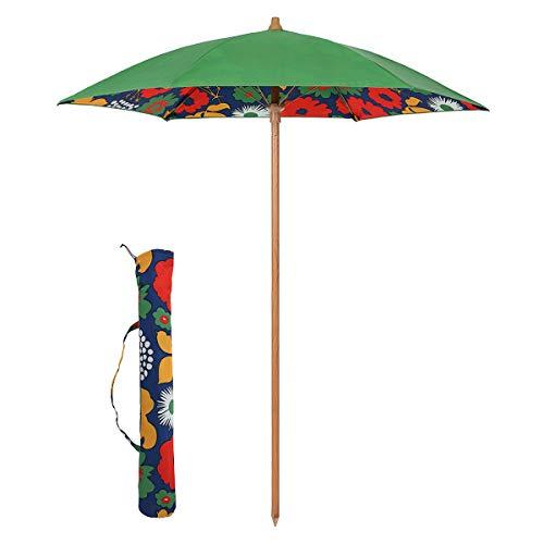 Sekey® Sonnenschirm 180 cm Strandschirm Terrassenschirm Grün Rund Sonnenschutz UPF50+