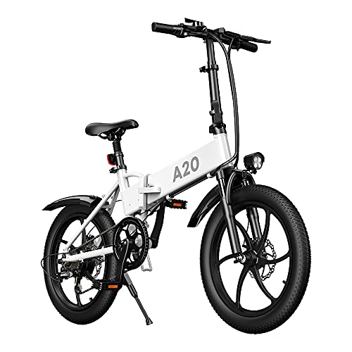 Bicicleta eléctrica ADO A20 350W Mujeres Hombres Bicicleta