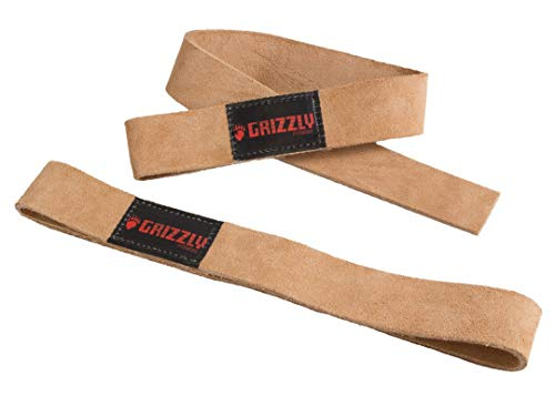 GrizzlyFitness(グリズリーフィットネス)『LeatherLiftingStraps8640-00』