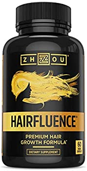 Zhou Nutrition Hair Growth Formula for Longer, Stronger, Healthier Hair