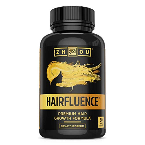 HAIRFLUENCE - Hair Growth Formula for Longer, Stronger, Healthier Hair - Scientifically Formulated with Biotin, Keratin, Bamboo & More! -...