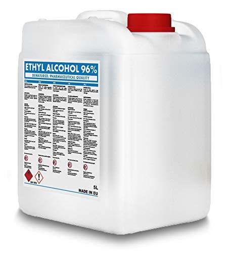 5L - Denaturiertes Ethanol Alkohol 96{8dc51c93eb2438ea54688470dace8ff9efb5a690f5df735a0380f535cad4fe97}