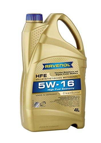 RAVENOL HFE SAE 5W-16 / 5W16 Vollsynthetisches Motoröl (4 Liter)
