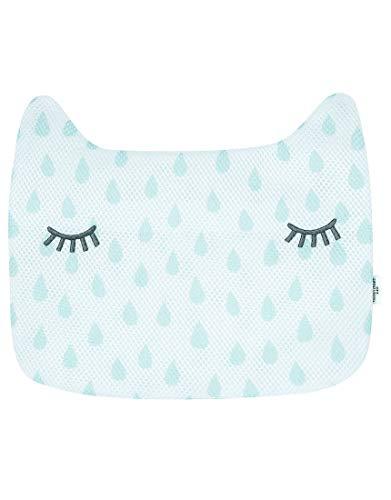Wacoal ワコール tsumori chisato sleep ツモリチサトスリープ ランドリーケース 洗濯 ネット ネコ型 しずく柄 旅行に UEX514 サックス(SX) M