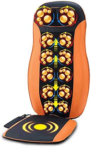 JYZT Luxus Auto Shiatsu Rückenmassagegerät, Halswirbelsäule Taille Gesäß...