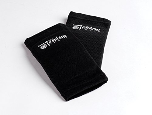 Tandem Sport Volleyball Elbow Pads - Avoid Floor Burns & Bruising - One Size Fits Most - 2 Pads, TSELBOWPADS, Black