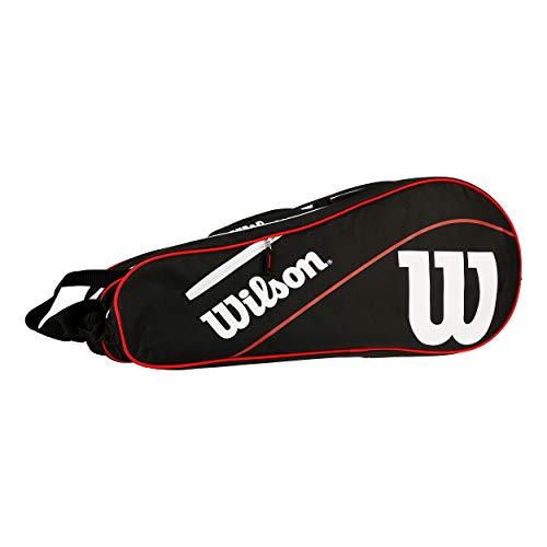 Wilson Advantage III Six Racket Bag Raquetero Negro - Blanco