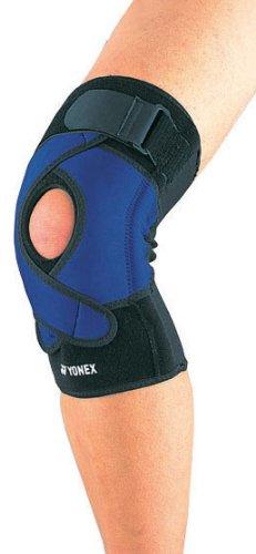 ヨネックス(YONEX) スポーツ MusclePower Supporter 膝サポーター MPS-50KN Lサイズ ブラック×ブルー