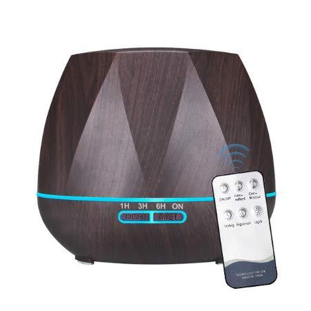 Control Remoto Humidificador De Aire Difusor De Aceites Esenciales Humidificador Mist Maker Led Aroma Diffusor Aromatherapy Eu D