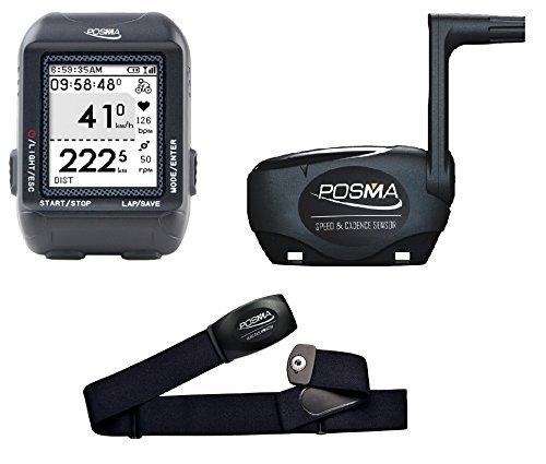 Posma D2 Computadora Inalámbrica de Bicicleta con Velocímetro Cuentakilómetros Antena + Envoltorio...
