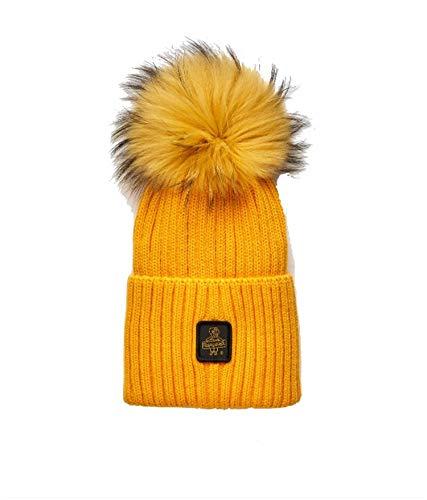 cappello refrigiwear Cappello Lana Refrigiwear Pom PON Giallo
