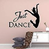 Fun Just Dance Extraíble Arte Vinilo Pegatinas De Pared Para Niños Dormitorio Calcomanías Calcomanía Mural Xl 57Cm X 71Cm