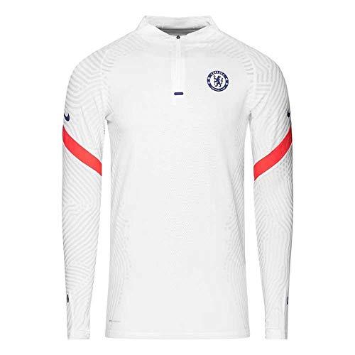 2020-2021 Chelsea CL Vapor Knit Strike Drill Training Top (White)