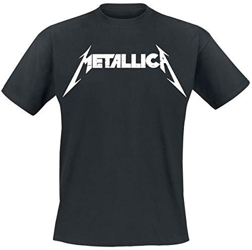 Metallica Master of Puppets Photo_Men_bl_TS: M T-Shirt, Nero (Black Black), Medium Uomo
