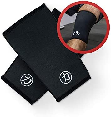 Strength Shop Inferno 7mm Knee Sleeves for Weightlifting Powerlifting and Squats IPF Neoprene product image