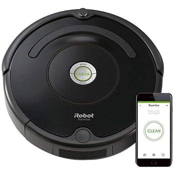 (Renewed) iRobot Roomba 675 Robot Vacuum-Wi-Fi Connectivity, Works with Alexa, Good for Pet Hair, Carpets, Hard Floors, Self-Charging
