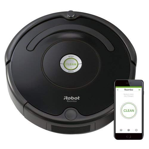 iRobot Roomba 675 Robot Vacuum-Wi-Fi Connectivity, Works with Alexa, Good for Pet Hair, Carpets, Hard Floors, Self-Charging (Renewed)