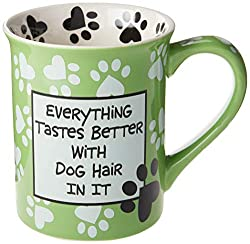 Everything Tastes Better With Dog Hair In It - Stoneware Mug