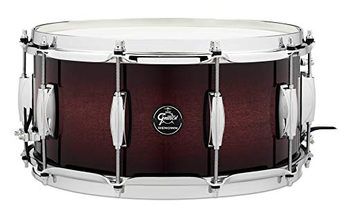 "Gretsch Drums Renown Series Snare Drum - 6.5"" x 14"" Cherry Burst"